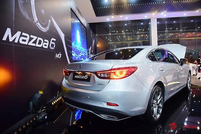 Soi chi tiết Mazda6 2017 giá 975 triệu đồng vừa ra mắt ảnh 3