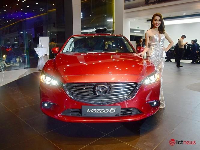 Soi chi tiết Mazda6 2017 giá 975 triệu đồng vừa ra mắt ảnh 16