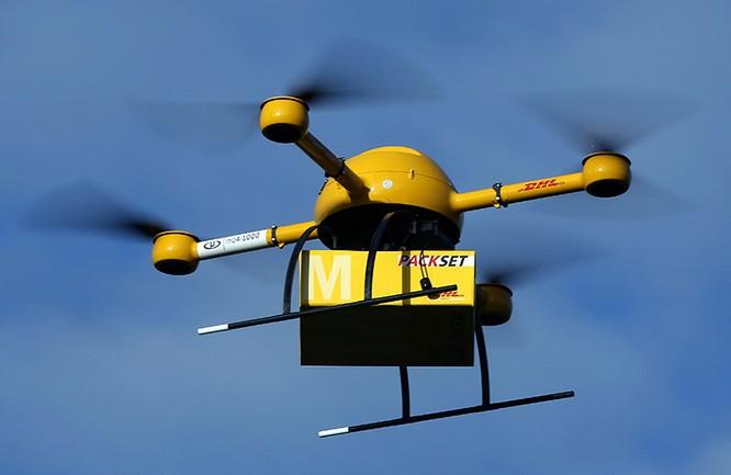 Drone - người giao hàng của tương lai ảnh 1