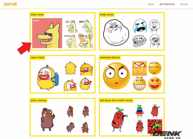 Hướng dẫn đưa bộ icon chat Rồng Pikachu vào Faceboook Messenger ảnh 3