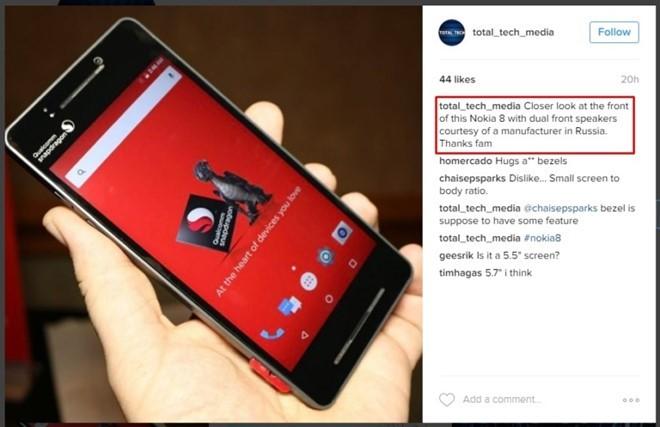Nokia 8 là lời nói dối ở CES 2017 ảnh 1