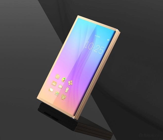 Ý tưởng smartphone ba màn hình độc đáo ảnh 1