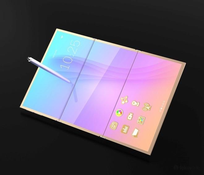 Ý tưởng smartphone ba màn hình độc đáo ảnh 2
