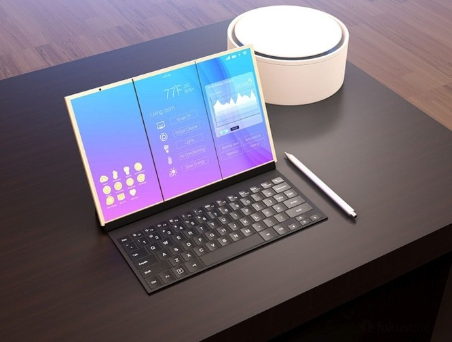 Ý tưởng smartphone ba màn hình độc đáo ảnh 4