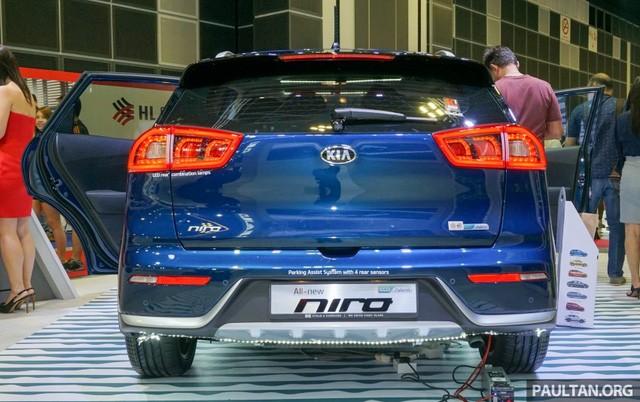 Xe crossover siêu tiết kiệm xăng Kia Niro ra mắt Đông Nam Á ảnh 5