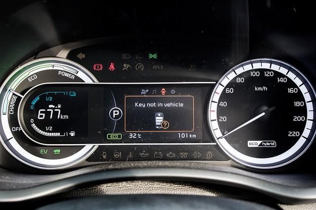 Xe crossover siêu tiết kiệm xăng Kia Niro ra mắt Đông Nam Á ảnh 13