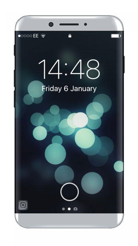 Bản thiết kế iPhone 8 màn hình tràn cạnh tuyệt đẹp ảnh 1