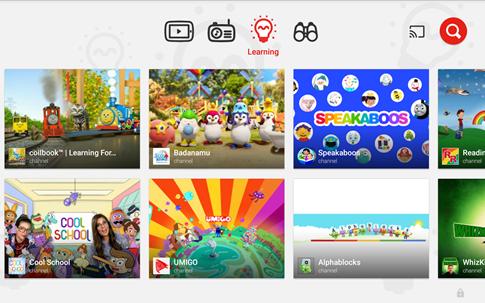 Google tung ứng dụng YouTube Kids dành cho trẻ em ảnh 1