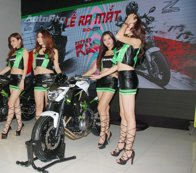 Cặp đôi Kawasaki Z900 và Z650 2017 ra mắt Việt Nam, giá từ 218 triệu Đồng ảnh 5
