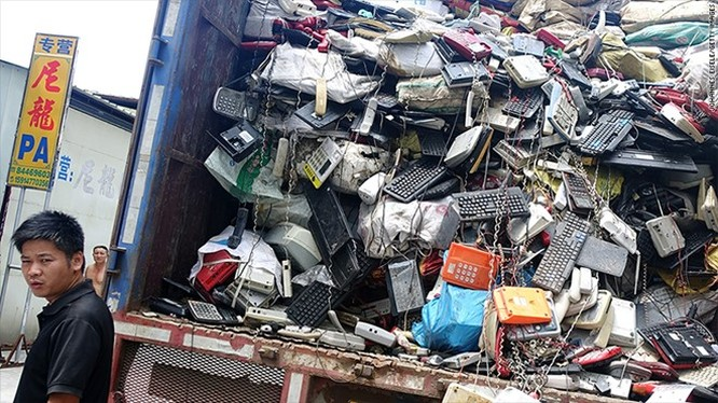 Châu Á đang ngập trong rác công nghệ ảnh 1