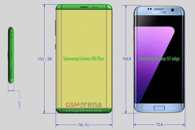 Galaxy S8 lên kệ tháng 4, giá 849 USD ảnh 1