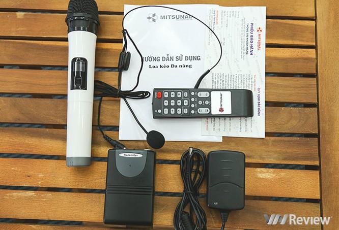 Trải nghiệm nhanh loa kéo tay hát karaoke di động, Mitsunal M8 giá 1,9 triệu đồng ảnh 2