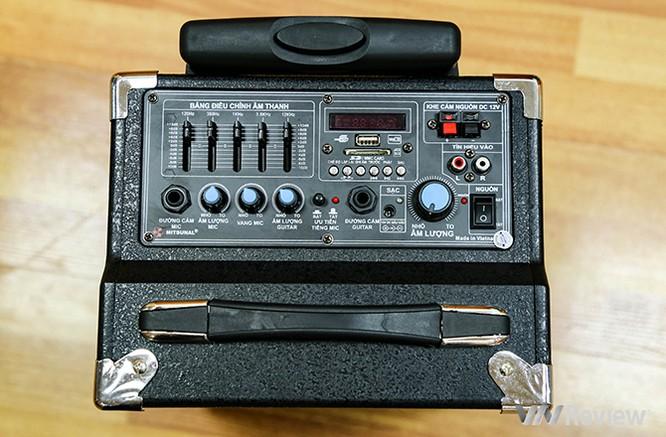 Trải nghiệm nhanh loa kéo tay hát karaoke di động, Mitsunal M8 giá 1,9 triệu đồng ảnh 6