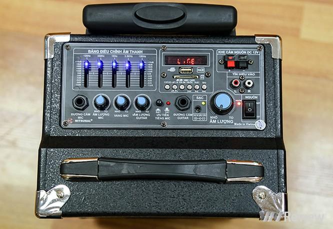 Trải nghiệm nhanh loa kéo tay hát karaoke di động, Mitsunal M8 giá 1,9 triệu đồng ảnh 10