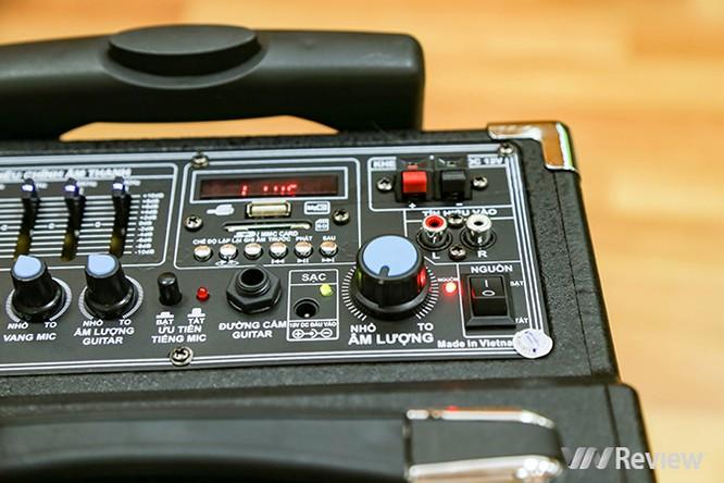 Trải nghiệm nhanh loa kéo tay hát karaoke di động, Mitsunal M8 giá 1,9 triệu đồng ảnh 8
