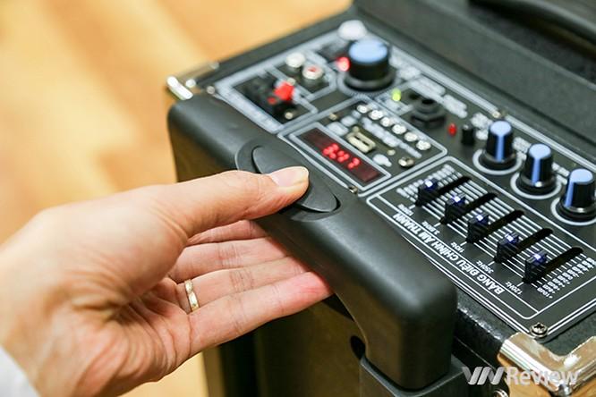 Trải nghiệm nhanh loa kéo tay hát karaoke di động, Mitsunal M8 giá 1,9 triệu đồng ảnh 3