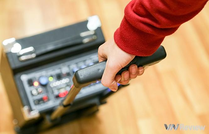 Trải nghiệm nhanh loa kéo tay hát karaoke di động, Mitsunal M8 giá 1,9 triệu đồng ảnh 4