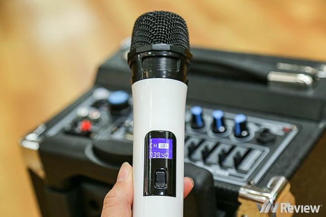 Trải nghiệm nhanh loa kéo tay hát karaoke di động, Mitsunal M8 giá 1,9 triệu đồng ảnh 9