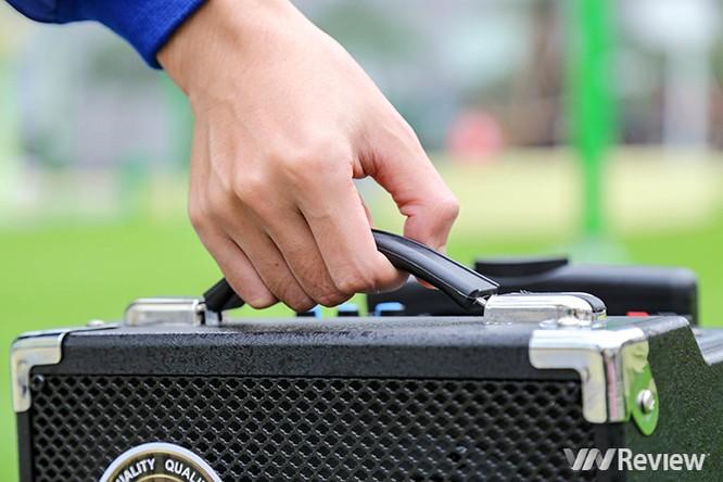 Trải nghiệm nhanh loa kéo tay hát karaoke di động, Mitsunal M8 giá 1,9 triệu đồng ảnh 5