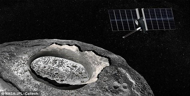 NASA muốn khám phá tiểu hành tinh trị giá hơn 10 tỷ tỷ USD ảnh 1