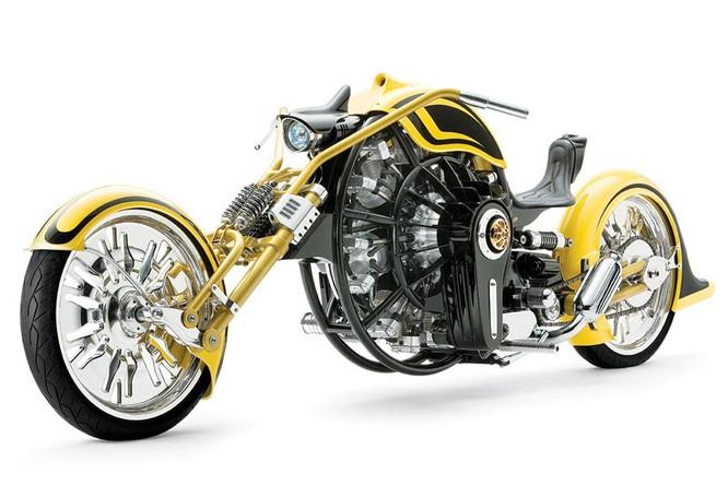 """Ngắm 12 chiếc môtô có hình thù """"độc, dị"""" nhất thế giới ảnh 8"""