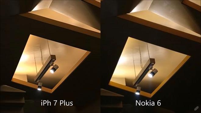Điều này cũng dễ hiểu khi iPhone 7 Plus là thiết bị flagship của Apple, trong khi Nokia 6 chỉ là sản phẩm tầm trung với giá bán khoảng 247 USD.