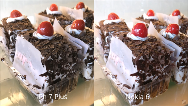 Tuy nhiên, chất lượng ảnh chụp bởi Nokia 6 cũng không quá kém cạnh iPhone 7 Plus, đặc biệt là về độ chân thực.