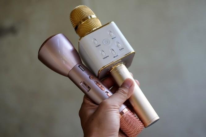 Loa kéo, micro hát karaoke hút hàng dịp cận Tết ảnh 1