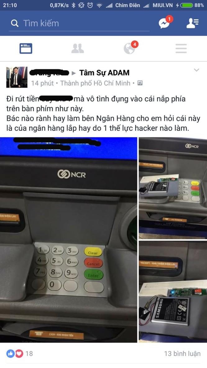 Phát hiện thiết bị đánh cắp mật khẩu thẻ ATM tại TP.HCM? ảnh 1