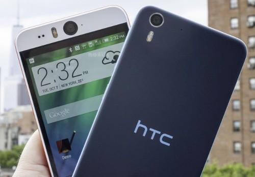 HTC Desire Eye (5 triệu đồng): là mẫu smartphone chuyên selfie đầu tiên của HTC đi kèm camera trước độ phân giải 13
