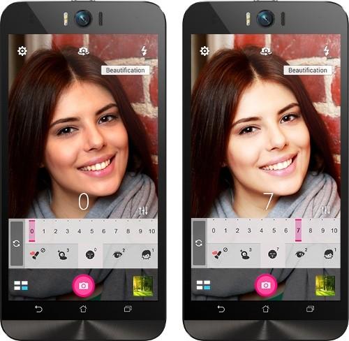 Ngoài ra còn có cả chế độ chỉnh tay, chụp tối và selfie góc rộng. Đèn flash LED có hai chế độ sử dụng gồm đèn pin (sáng liên tục) và đèn flash (chỉ sáng khi chụp ảnh) để lựa chọn tùy theo nhu cầu. Ngoài các mẫu điện thoại ở trên thì thị trường smartphone chuyên selfie cũng góp mặt nhiều thành viên mới, nhưng điểm chung của các thiết bị này là không trang bị đèn flash LED riêng biệt mà sử dụng ánh sáng màn hình để làm sáng chủ thể trong điều kiện môi trường ánh sáng yếu.