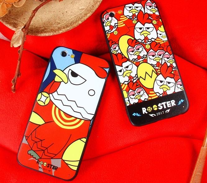 Những mẫu ốp lưng điện thoại hình gà độc đáo cho năm Đinh Dậu 2017 ảnh 2