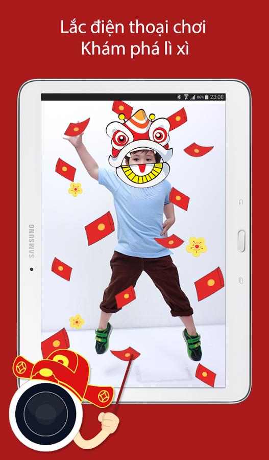 Phần mềm ghép ảnh Tết đẹp, miễn phí cho iPhone, Android ảnh 1