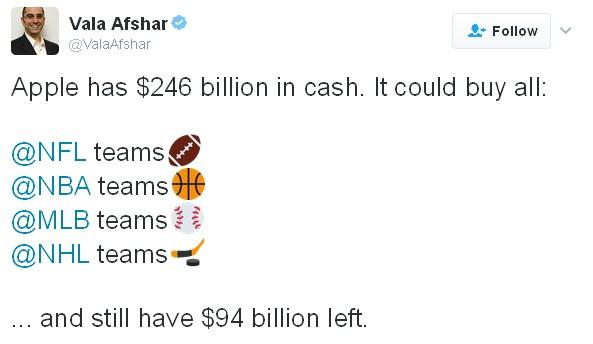 Apple giàu có đến cỡ nào? ảnh 1