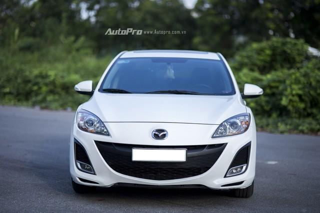 Mazda3 2011 - Xe cũ, lái ổn, giá dưới 600 triệu ảnh 3
