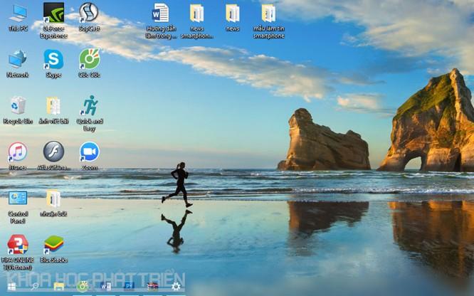 Hướng dẫn làm trong suốt thanh taskbar trên Windows 10 ảnh 2