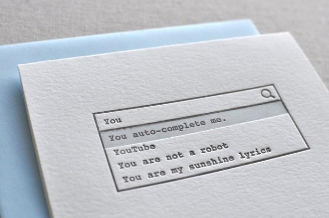 Thiệp Valentine độc đáo của 'dân cuồng Internet'