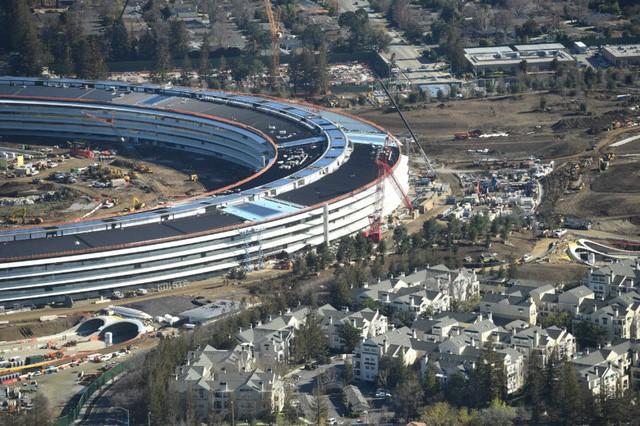 Tổng hành dinh mới Apple đạt tới giới hạn hoàn hảo của thi công ảnh 2