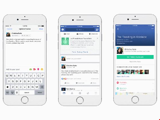 Facebook ra mắt công cụ hỗ trợ thiên tai ảnh 1