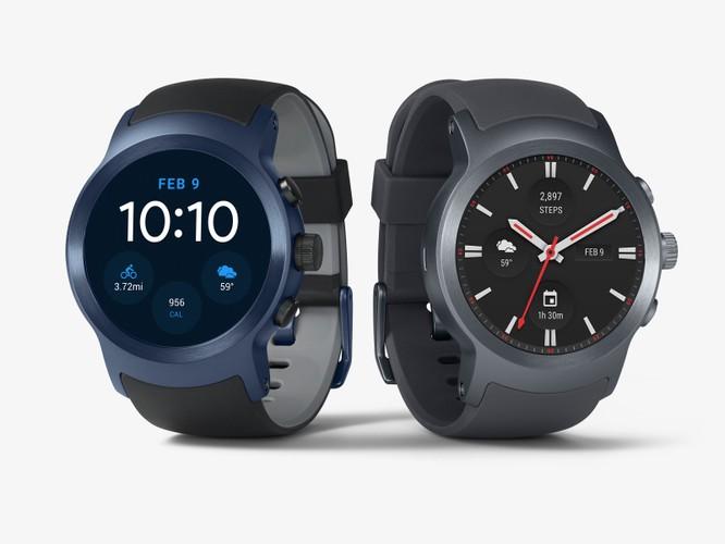 LG ra mắt bộ đôi smartwatch mới chạy Android Wear 2.0 ảnh 1