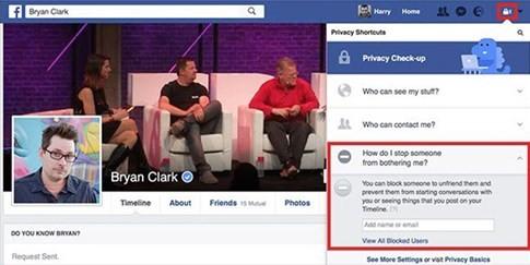 Cách chặn người lạ làm phiền bạn trên Facebook ảnh 2