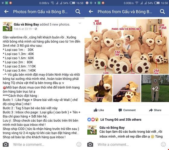 Lừa đảo trên Facebook nhân mùa Valentine ảnh 2