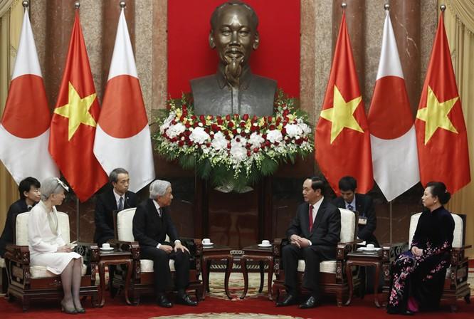 Chủ tịch nước hội kiến Nhà vua Nhật Bản ảnh 1