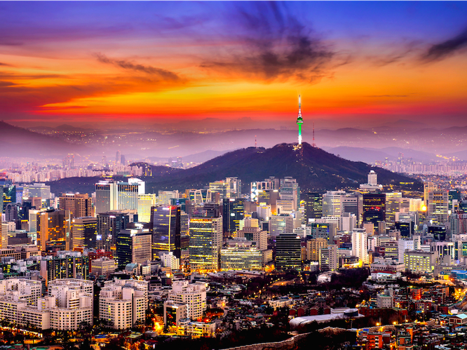4. Seoul, South Korea — 16.61%. The city's prominent presence a key area for Asian economic growth is fuelling jobs and people flocking to Seoul, resulting in prime property demand surges.