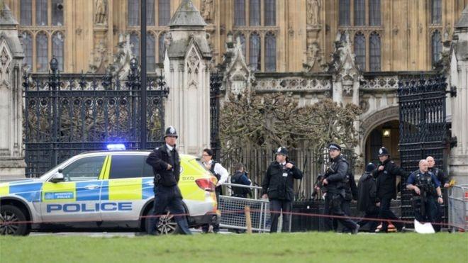 Súng nổ trong nhà Quốc hội Anh, nhiều thương vong ảnh 1