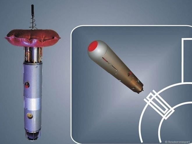 Mồi âm thanh - Lá chắn mới của tàu ngầm Nga ảnh 1