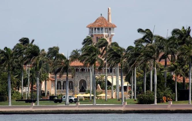 Dinh thự Mar -a -Lago của ông Trump, nơi hai nhà lãnh đạo sẽ gặp nhau trong hai ngày 6 và 7/4