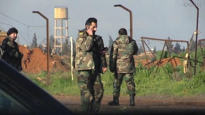 Mỹ đã sử dụng không phận Israel để tấn công Syria