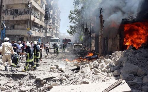 Quân chính phủ Syria đã giành lại Aleppo