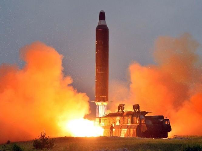 Vụ thử tên lửa đạn đạo của Triều Tiên tháng 6/2016